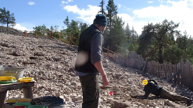 Lampivaara amethyst mine Sodankylä Lapland Finland