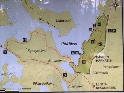Pääjärvi map
