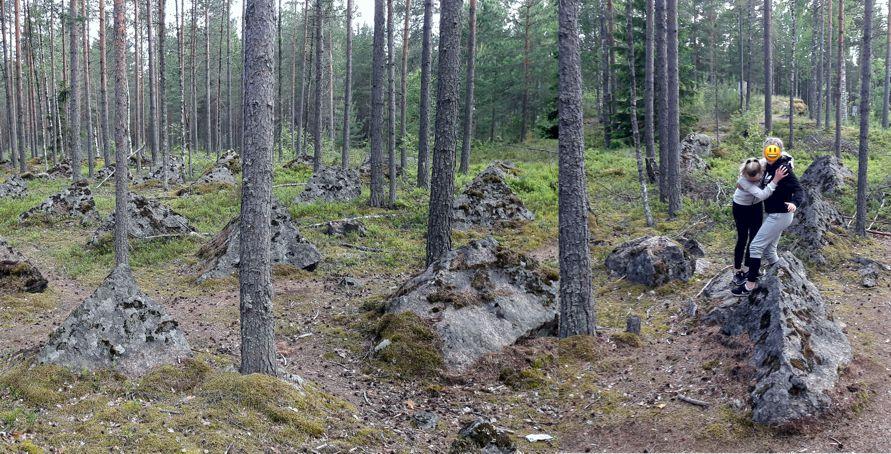 Salpa Line Salpalinja in Luumäki, Finland