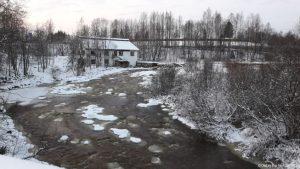 Vantaankoski rapids Vantaa winter talvi