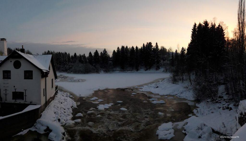 Vantaankoski Vanha viilatehdas winter talvi