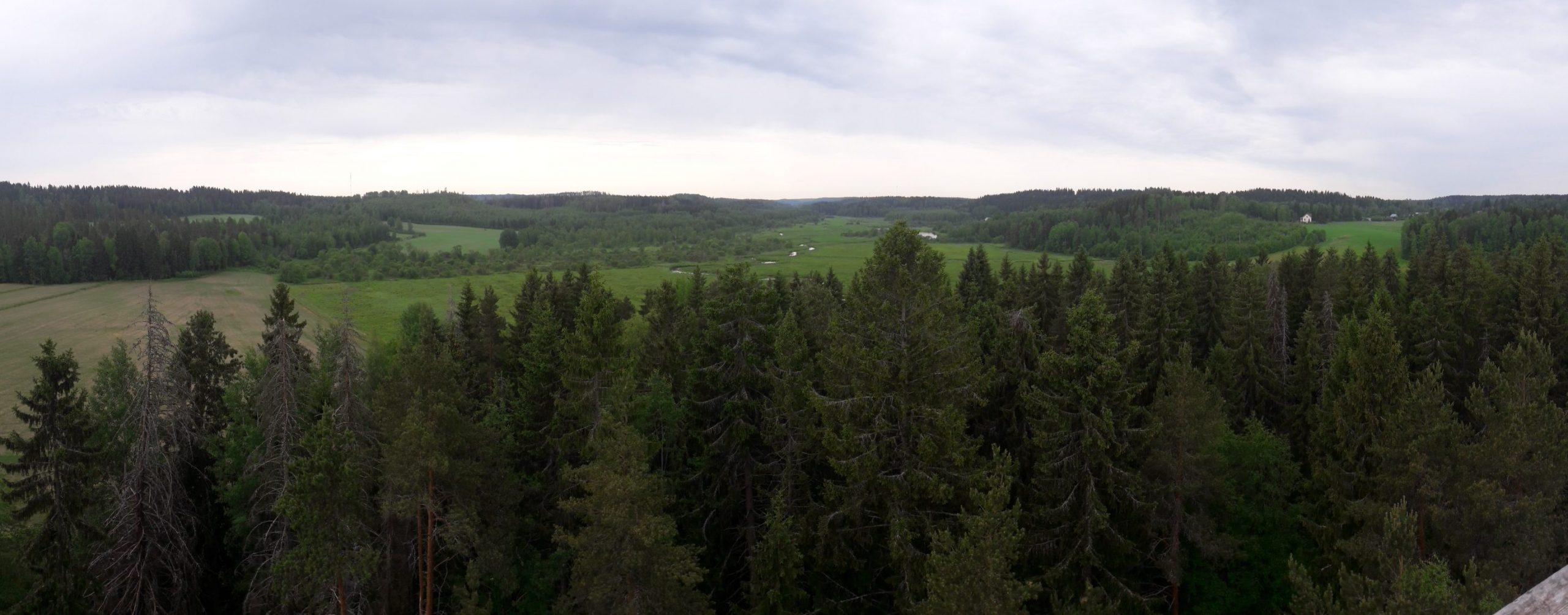 View over Salpausselkä