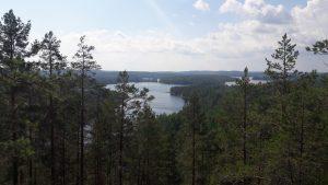 View from Neitvuori over the Lakeland