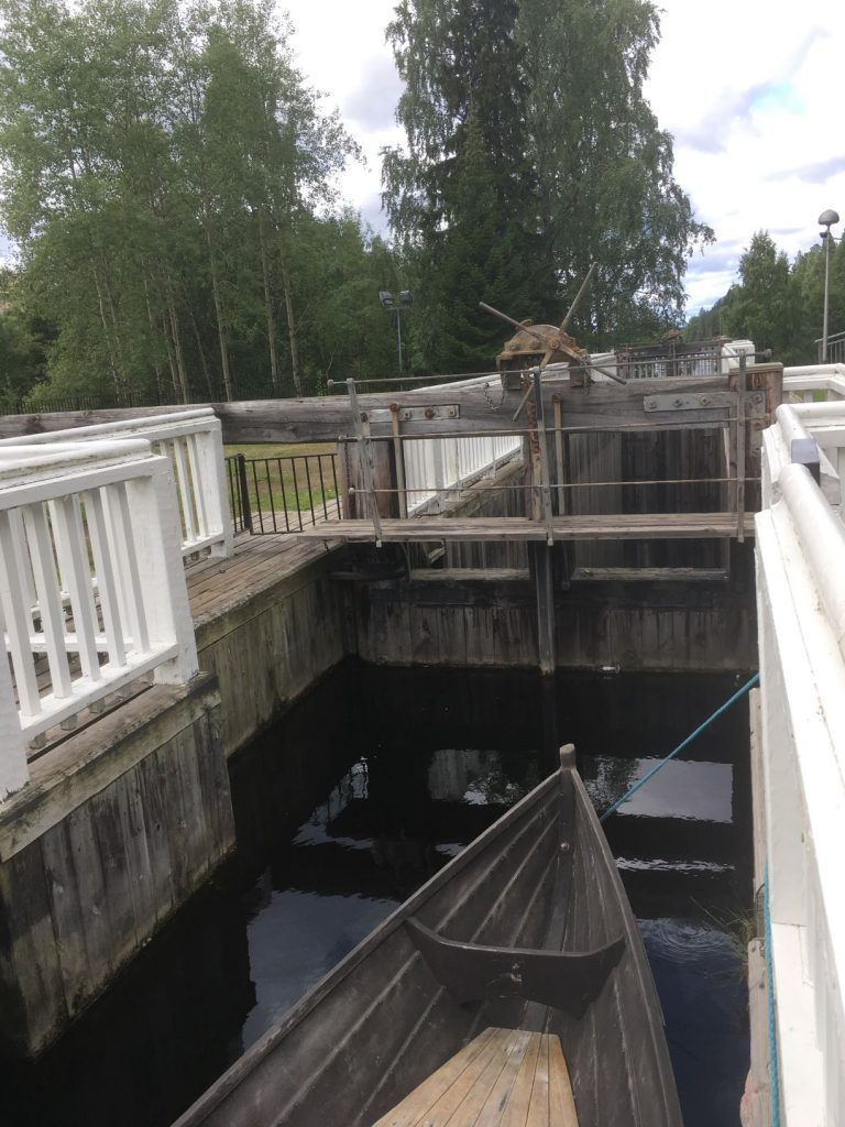 Kajaani tar canal