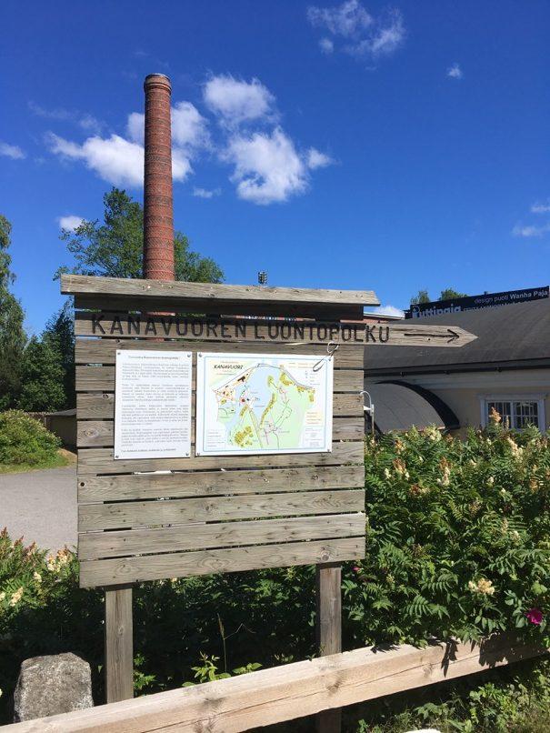 Naissaari Sign Kanavuori Chicken Mountain