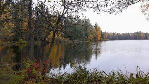 Gallträsk lake