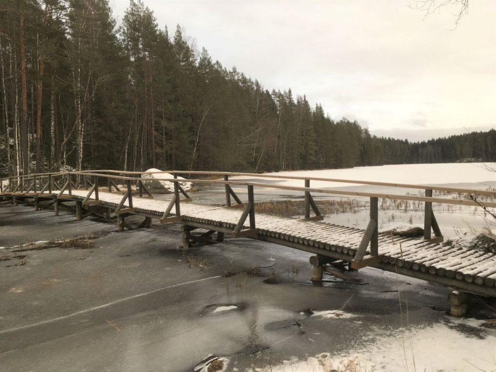 Isojärvi National Park Bridge