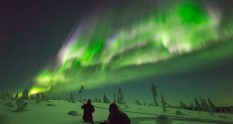 Northern Lights aurora borealis Finland Suomi