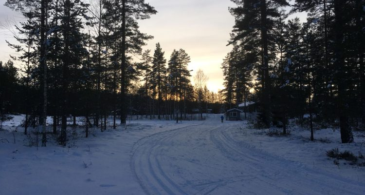 Cross country skiing in Lohja