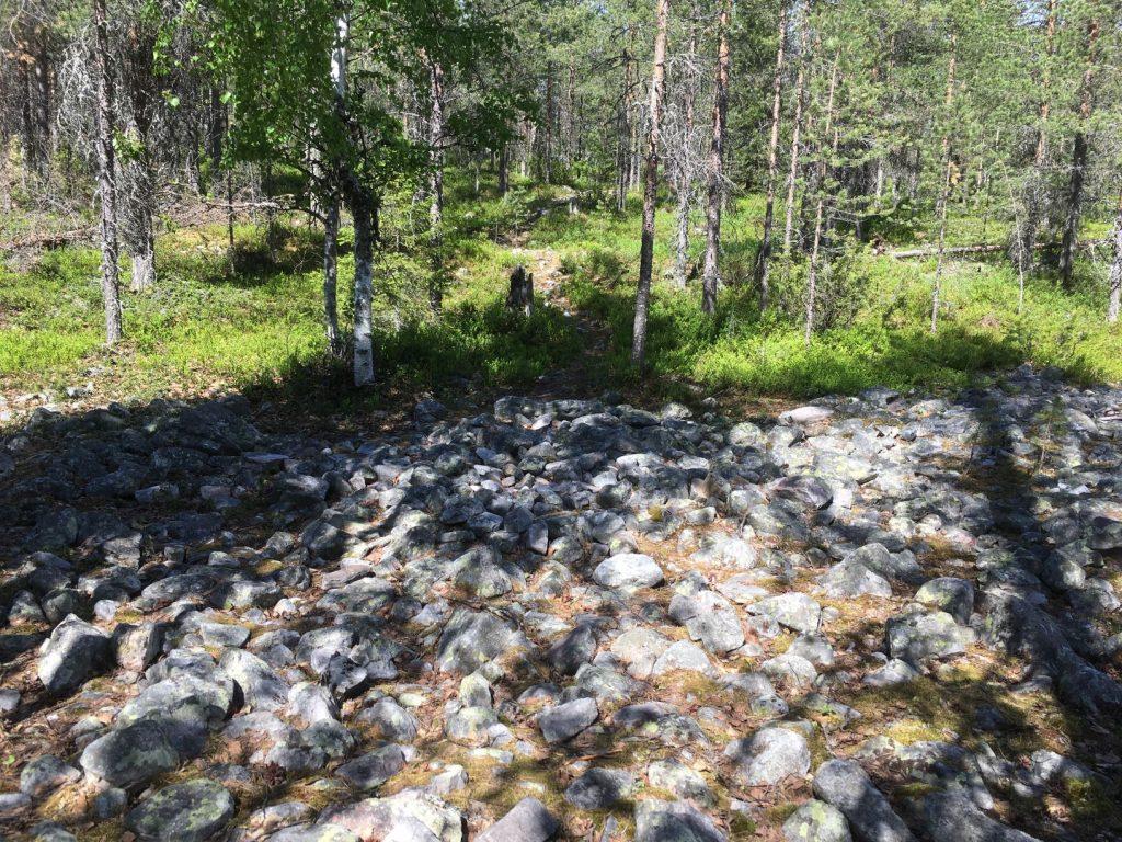 Rumavaara devils field Pudasjärvi