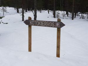 Kotokieros signpost