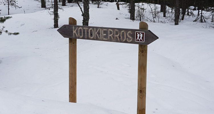 Kotokierros sign