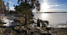 Uutela trails in Vuosaari Helsinki