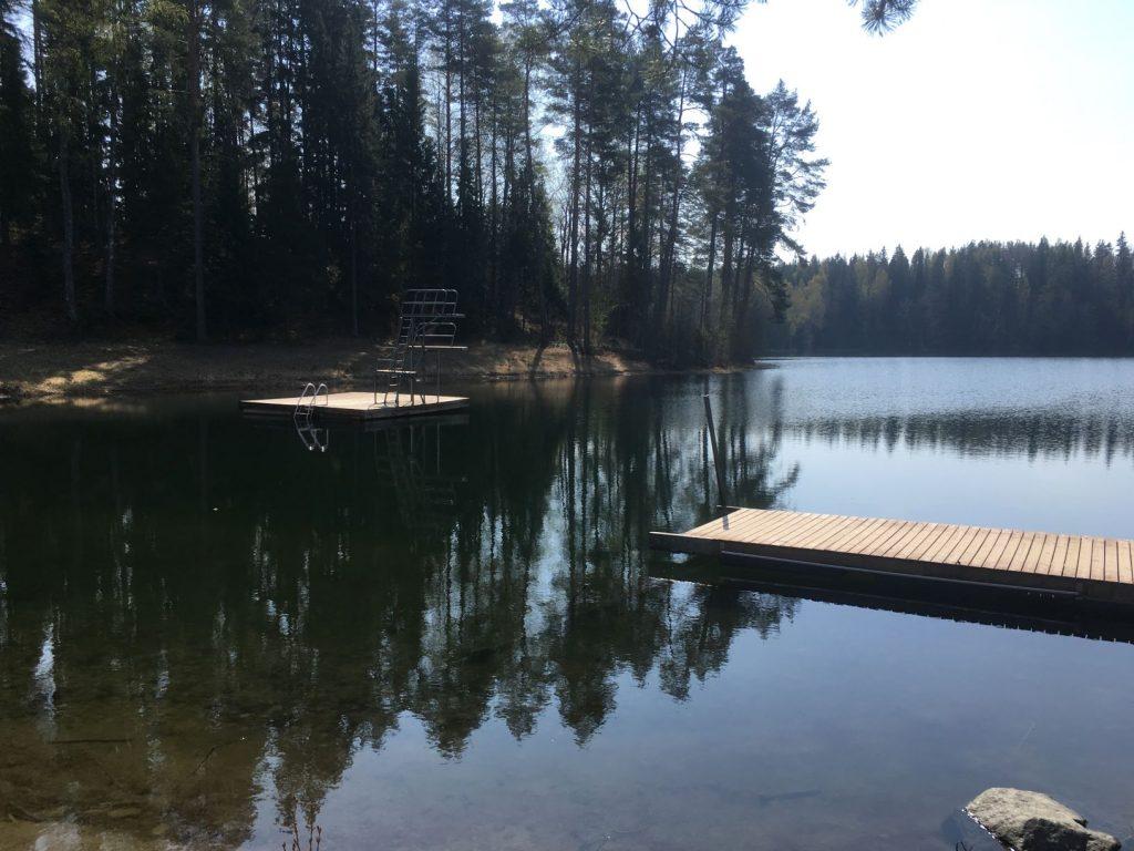 Saari Folk Park Lake Suujärvi