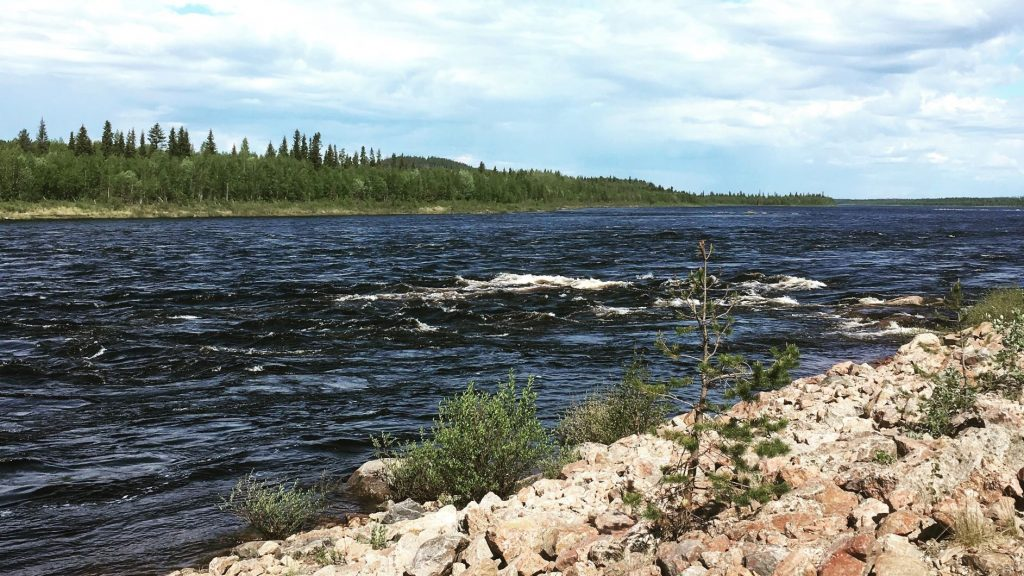 Tornionjoki river