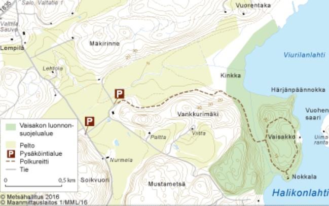Vaisakko map