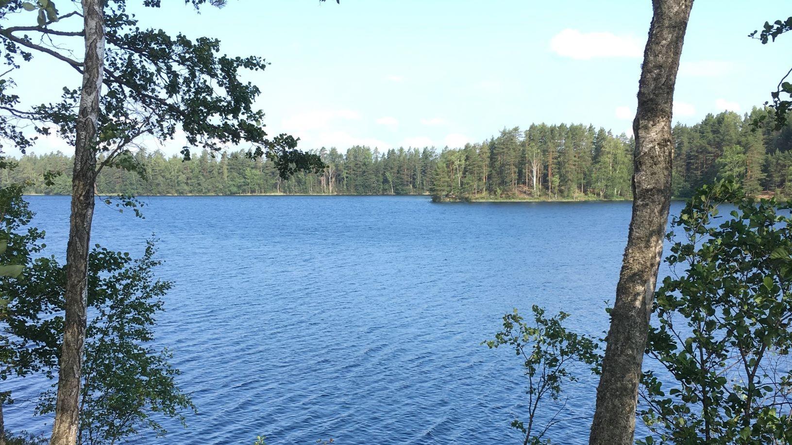 Iso-Melkutin lake