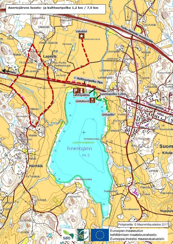 Aneriojärvi map