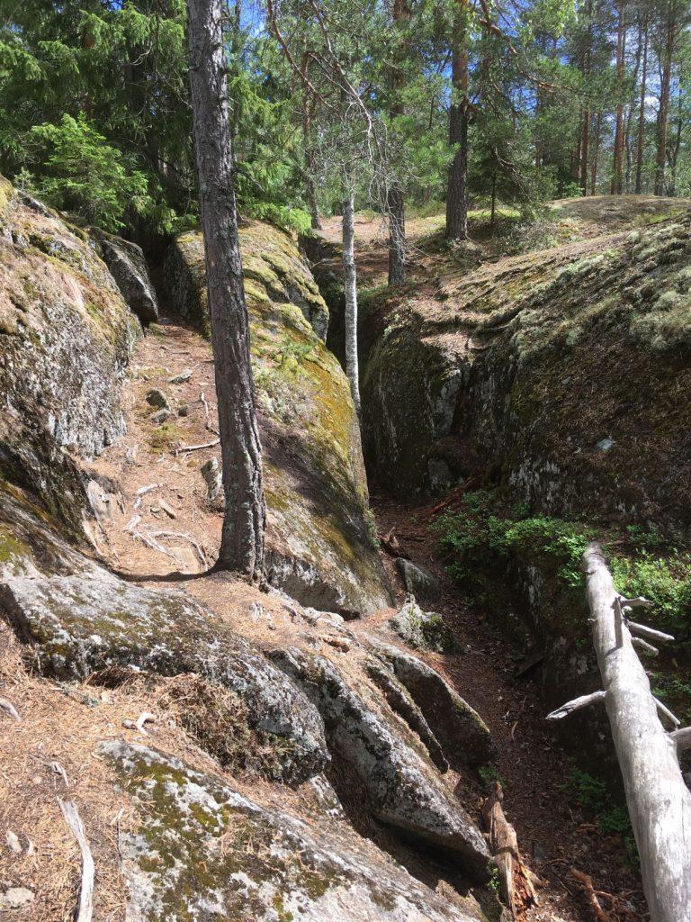 Marttila wilderness trails Lotikonkellari
