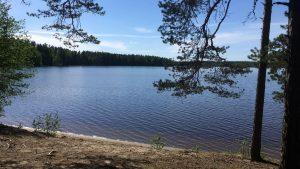 Ruostejärvi Lake in Tammela