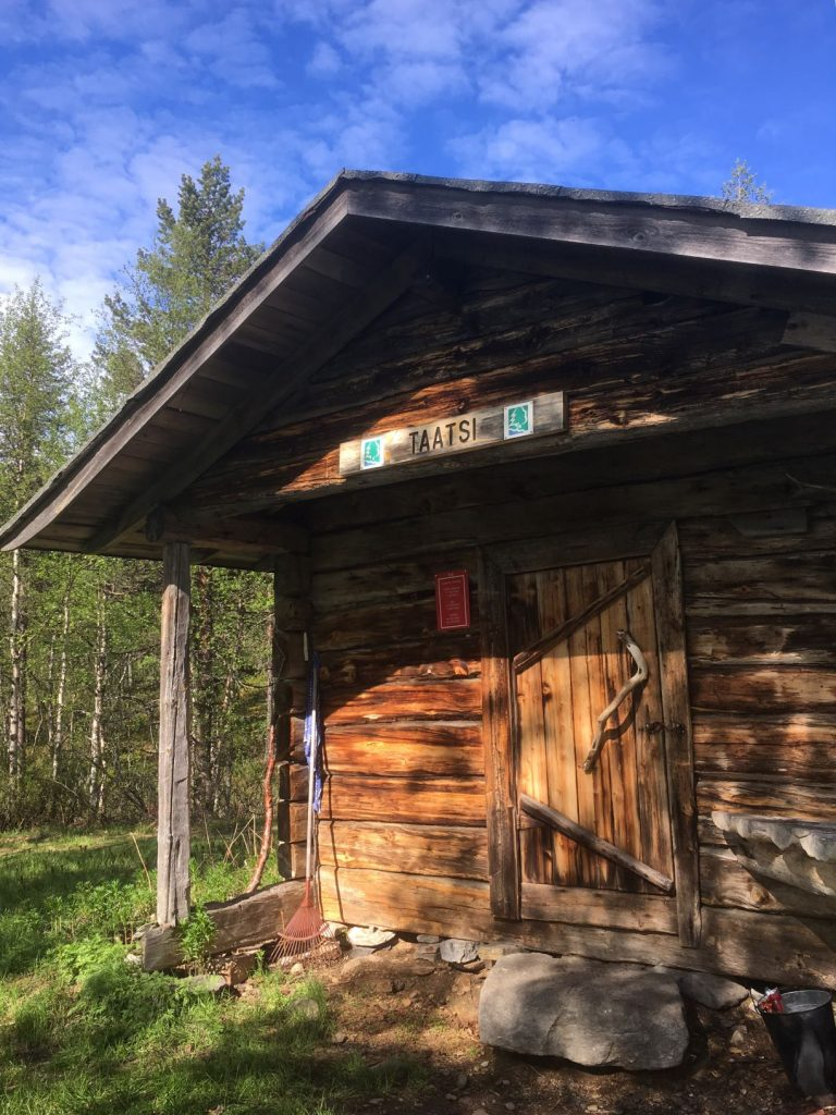 Taatsijärvi wilderness hut