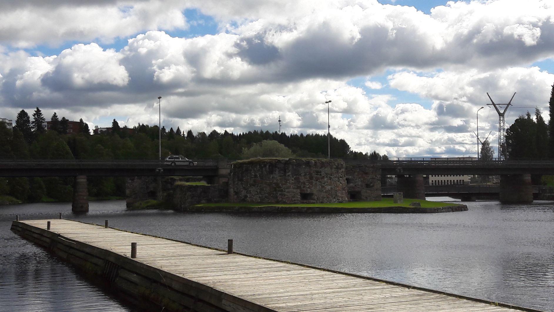 Kajaani castle ruins
