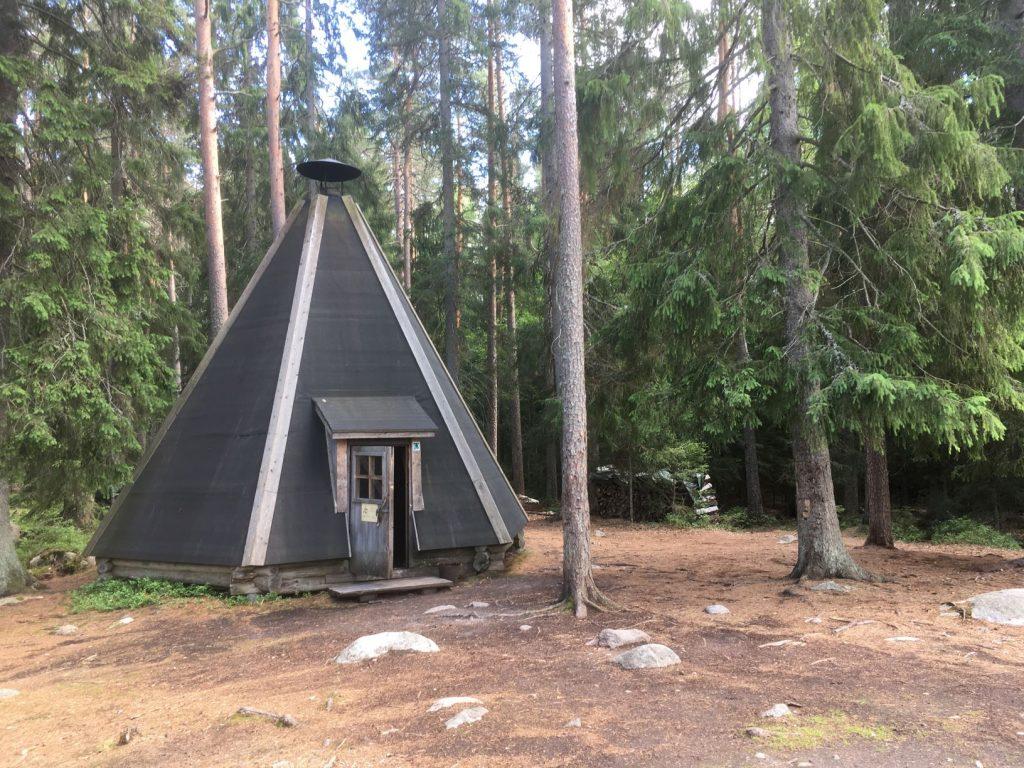 Liesjärvi Kaksvetinen barbeque hut