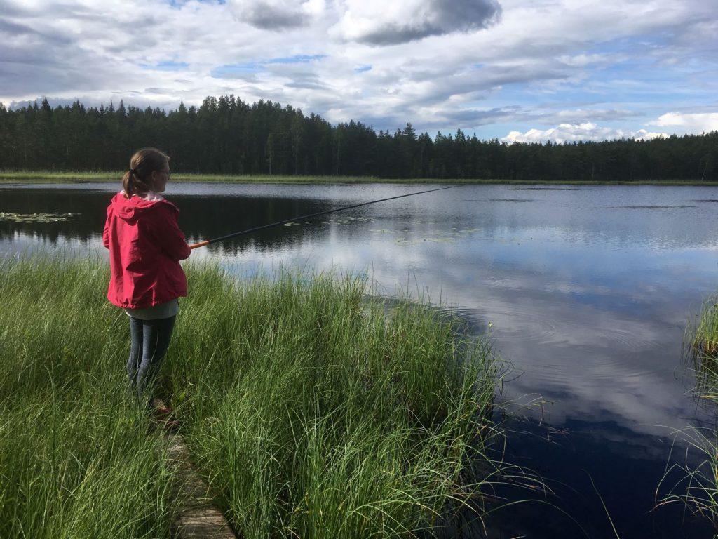 Liesjärvi Kaksvetinen fishing