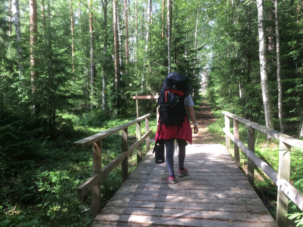 Liesjärvi Kaksvetinen hiking