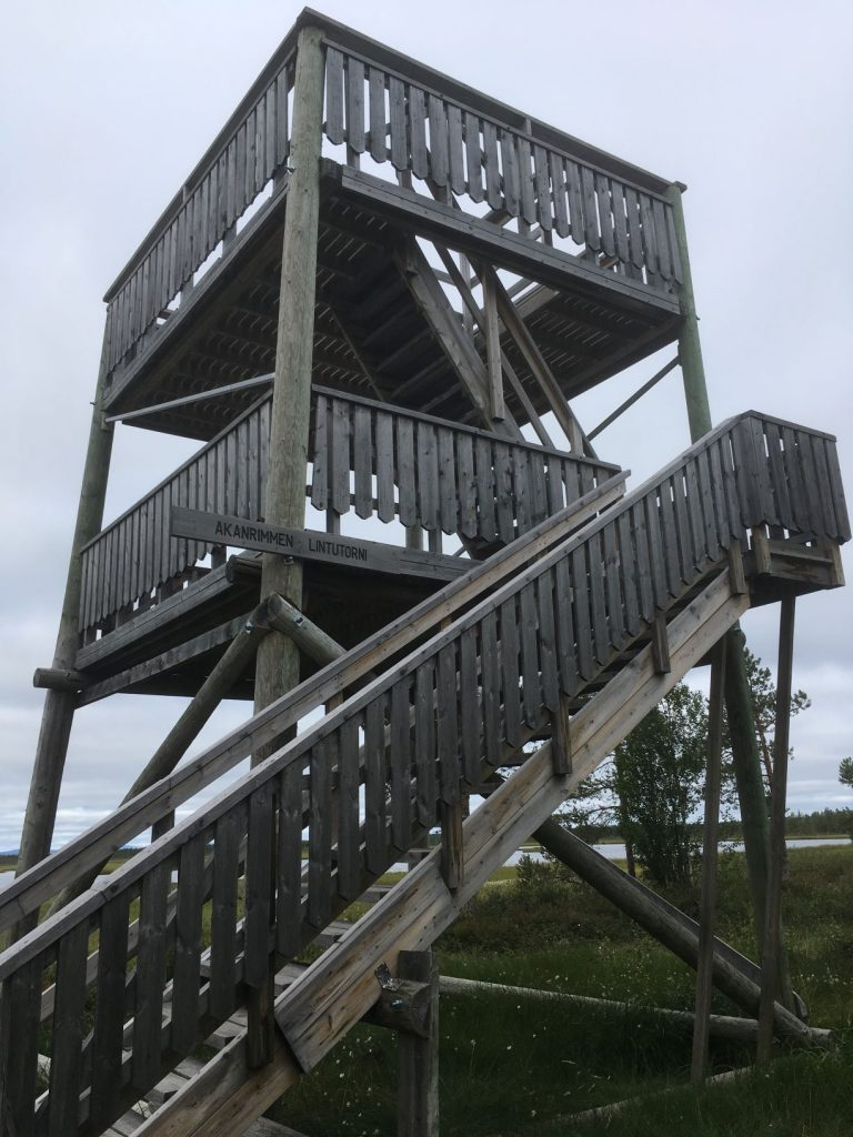 Akanrimpi bird watching tower