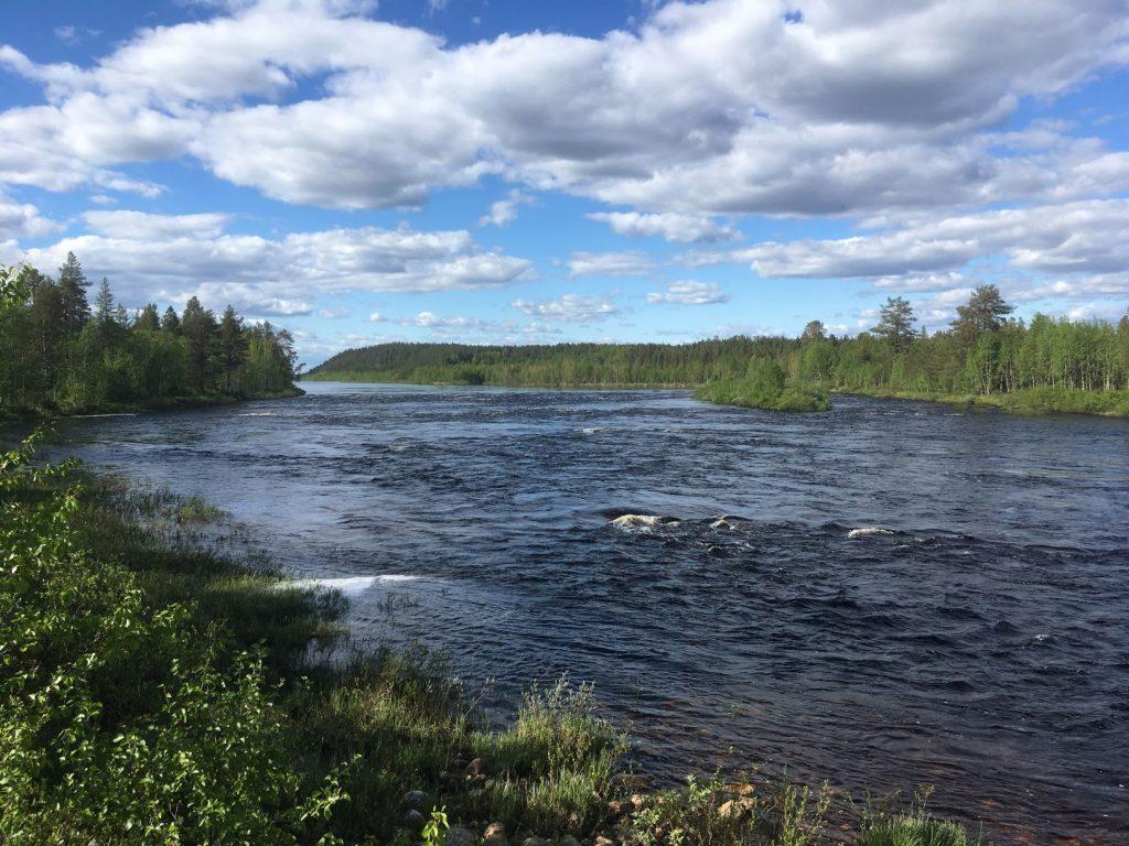 Ounasjoki river