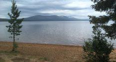 Punainenhiekka Pallasjärvi