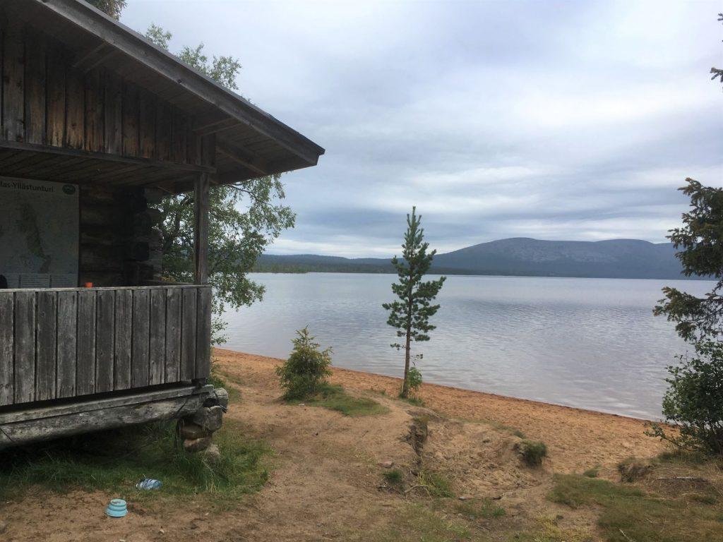 Punainenhiekka Pallasjärvi wilderness hut