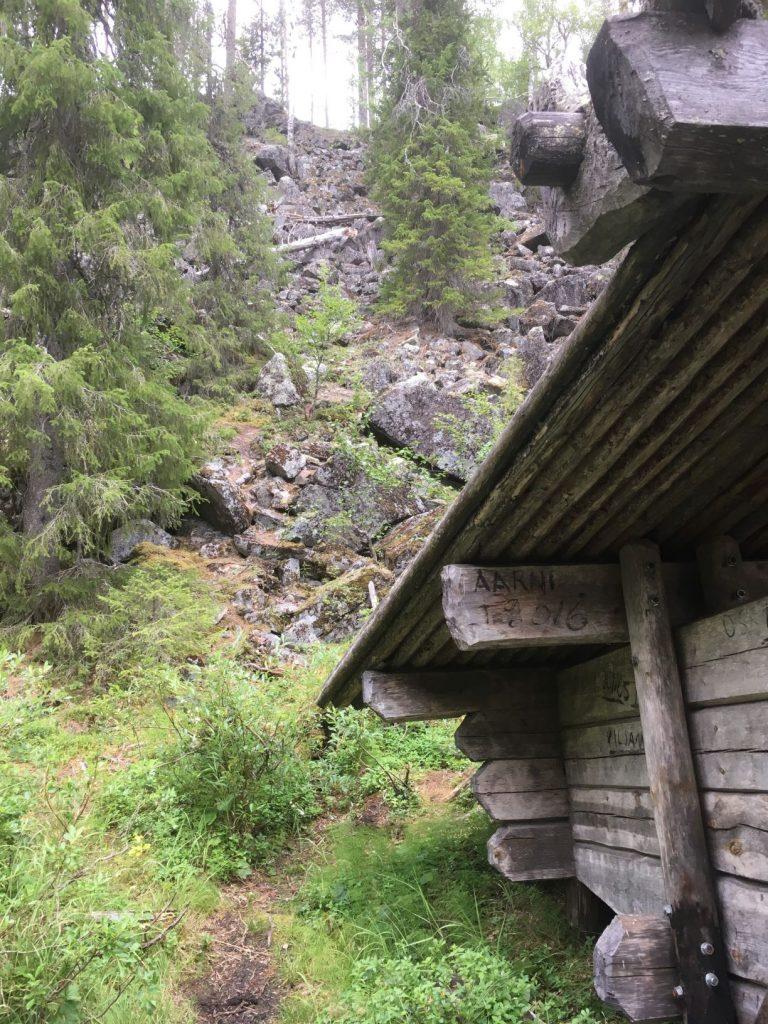 Vattukuru lean-to shelter