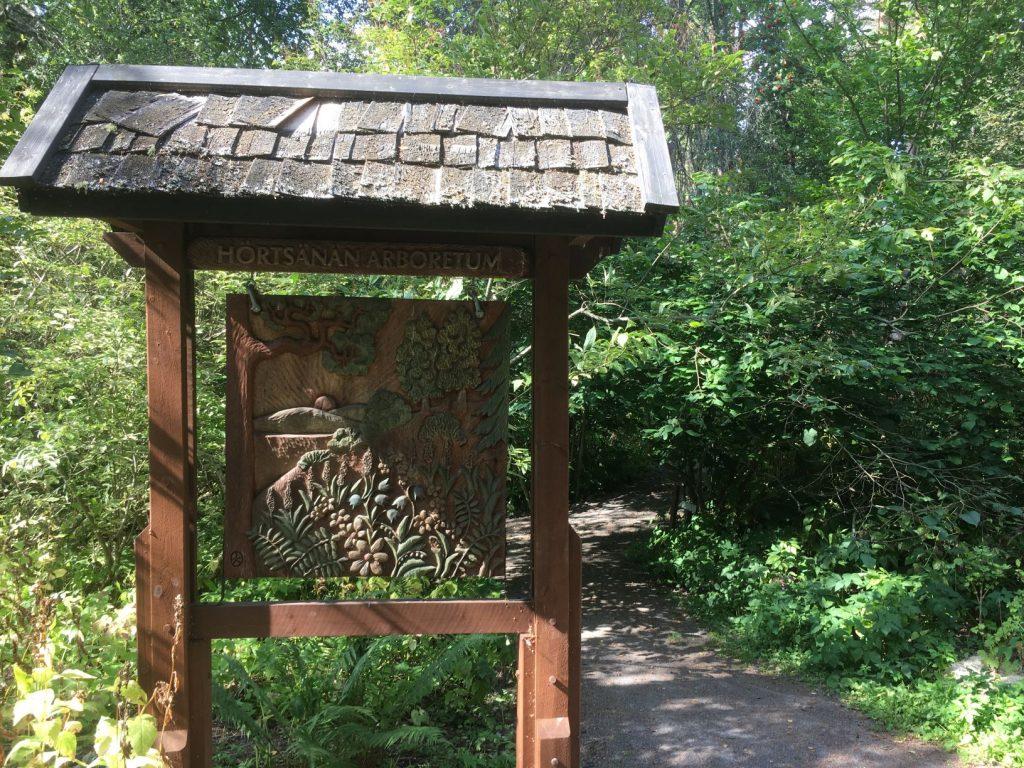 Hörtsänä Arboretum gate