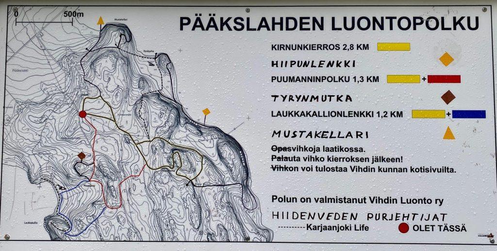 Pääkslahti map
