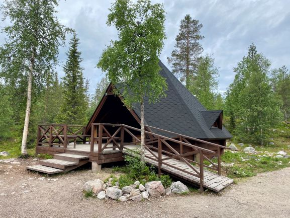 Särkivaara lean-to shelter