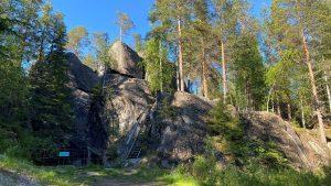 Sukulanrakka giants kettles in Rovaniemi