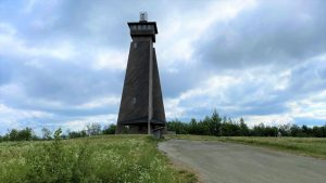 Suokonmäki observation tower in Alajärvi