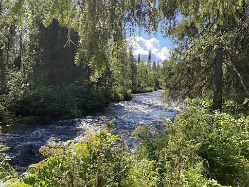 Äkäsjoki river
