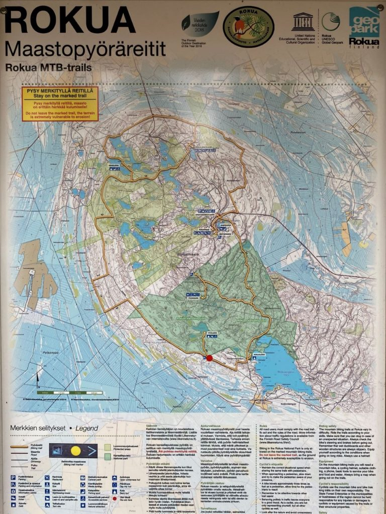 Rokua MTB-trails