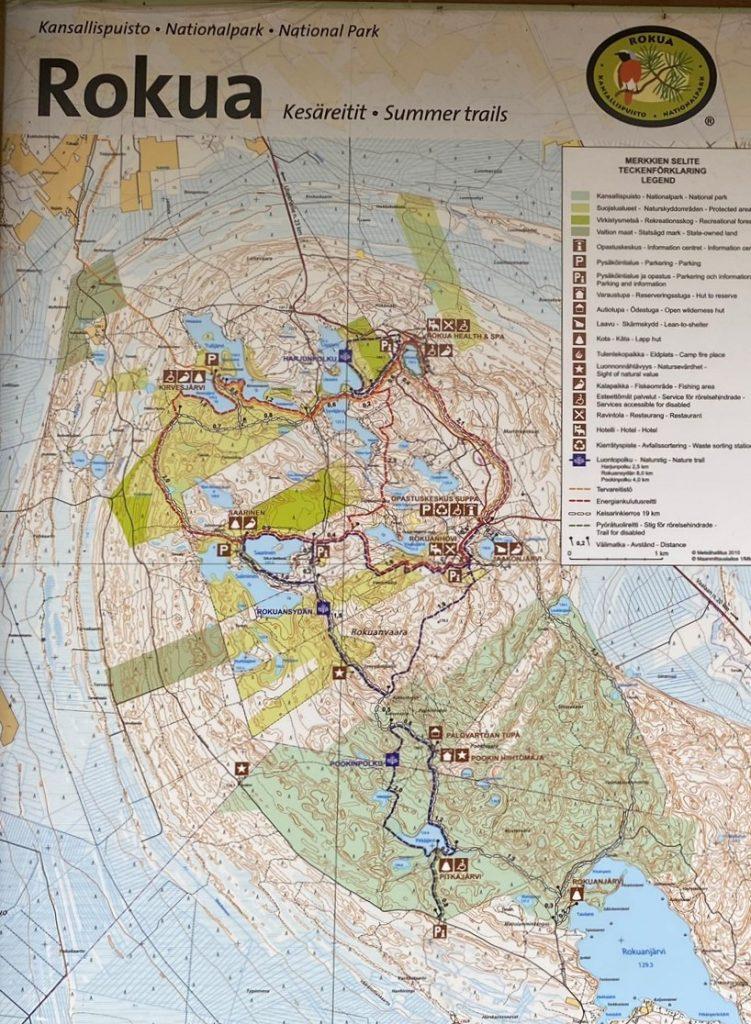 Rokua Summer trails