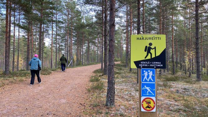 Harjureitti Säkylä Huittinen Loimaa Oripää