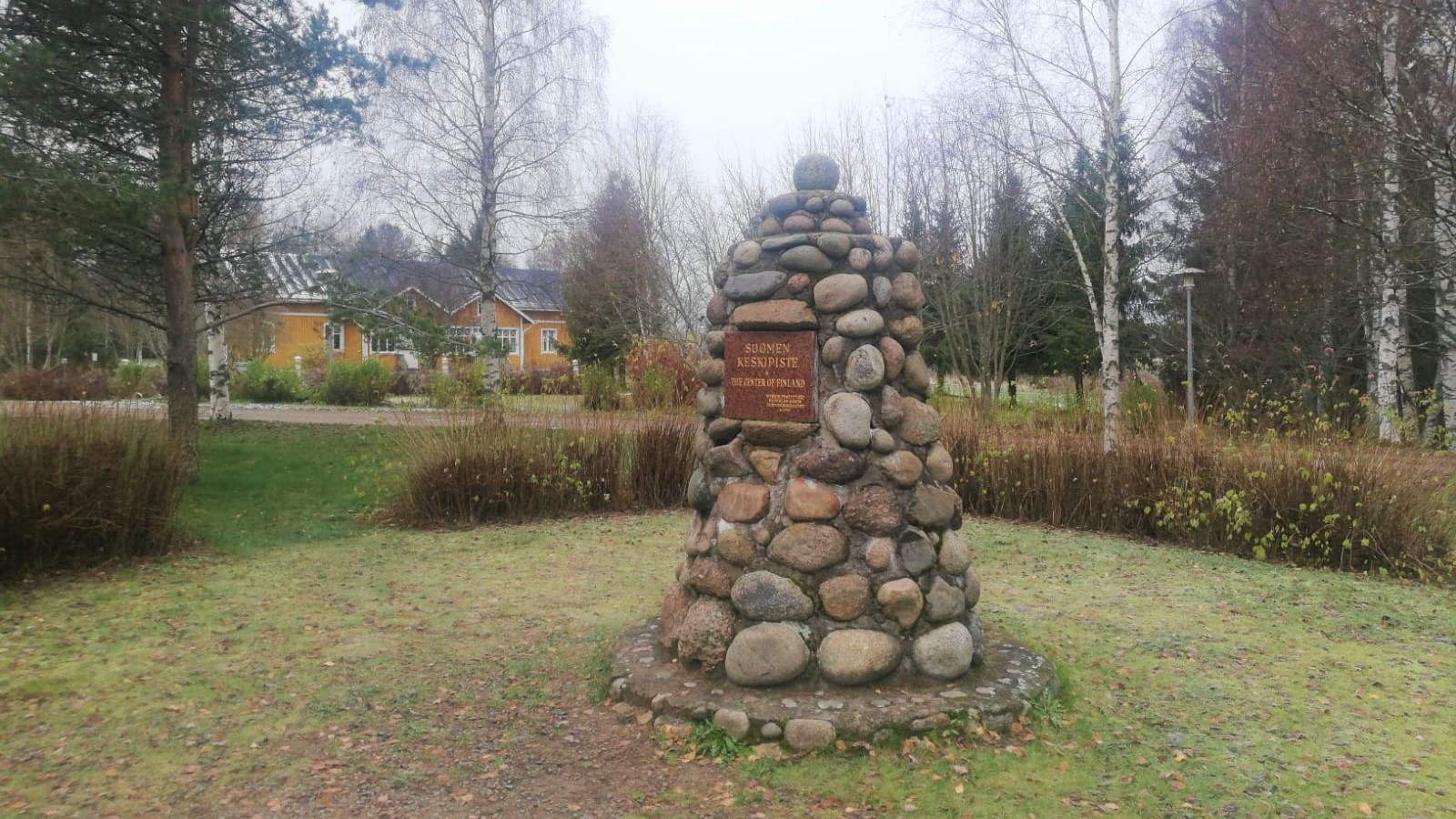 The center of Finland in Piippola in Siikalatva