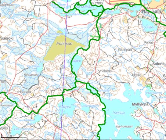 Kivisammaljärvi map