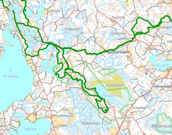 Komio map