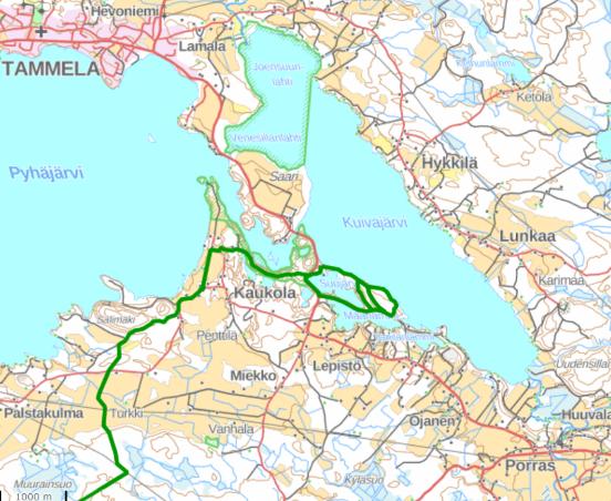 Saari folk park map