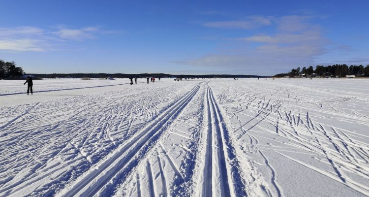 Cross-country skiing in Turku