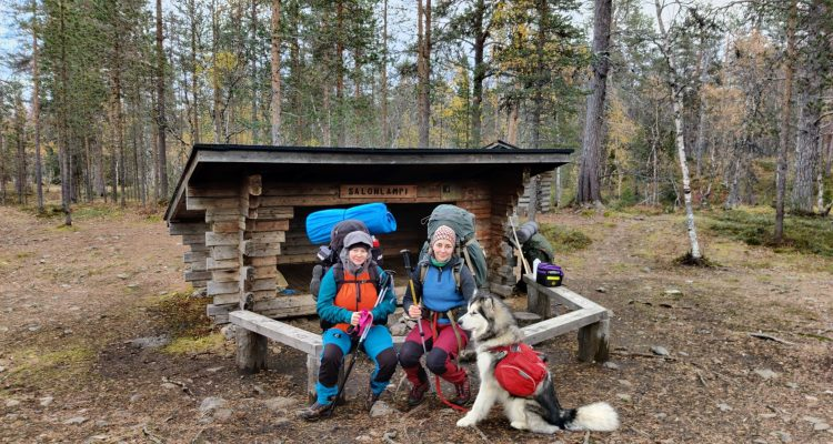 Trekking at Urho Kekkonen National Park