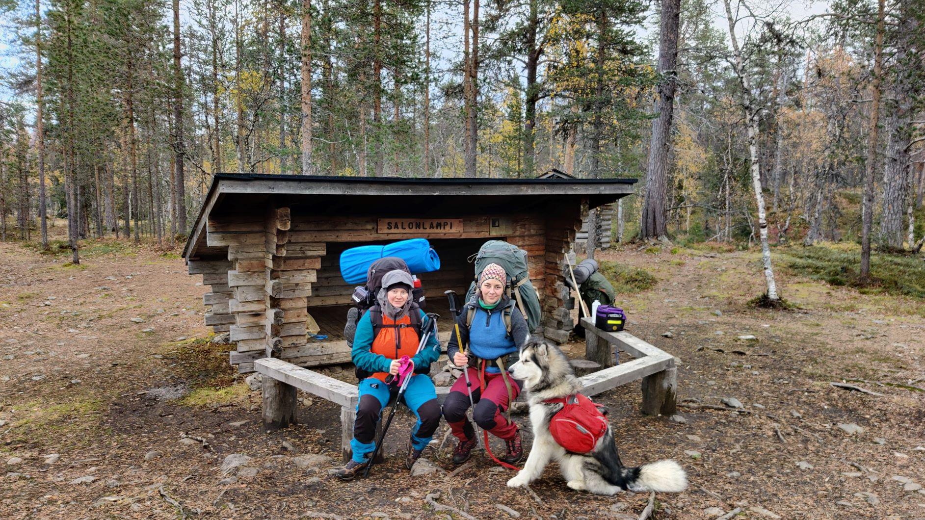Trekking at Urho Kekkonen National Park